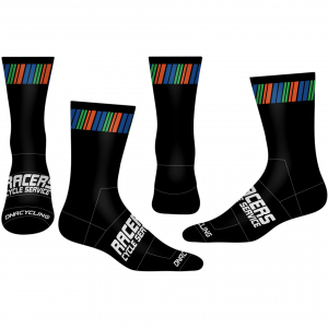 "Racers 6"" Cuff DNA Cycling Socks"